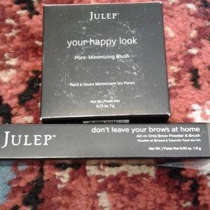Julep blush and eyebrow pencil